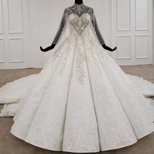 Waves stunning wedding dress